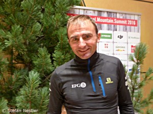 Ueli Steck at the IMS in Bressanone