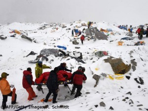 Rescue in Everest Base Camp