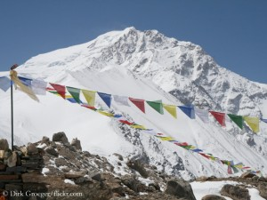 Shishapangma (8,027 m) in Tibet