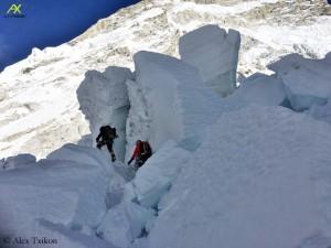 Dangerous Khumbu Icefall