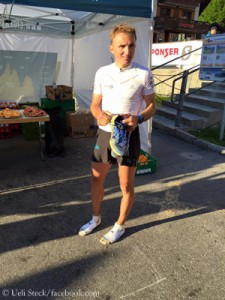 Ueli after the Eiger Ultra Trail
