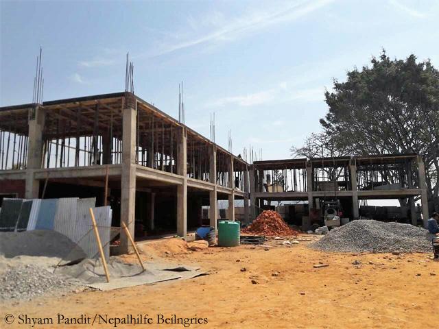 Thulosirubari-construction side