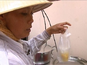 Sweet Soup Seller - Close up
