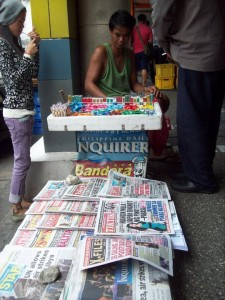 newsstand in the Philippines