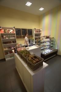 Neueröffnetes Café in Russland (Foto: Pavel Mylnikov).