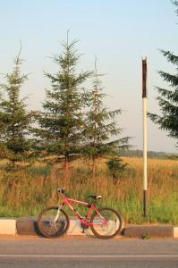 Mit dem Fahrrad auf dem Land (Foto: Pavel Mylnikov)