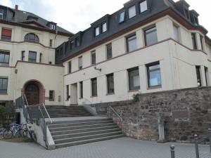 Eines der Gymnasien in Bingen (Foto: Kathrin Biegner)