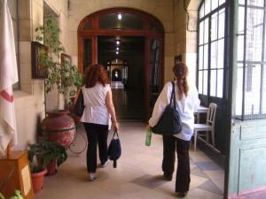 In der Bernasconi-Schule in Buenos Aires