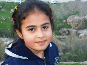 Mädchen aus Irak (Foto. Hellgurd S. Ahmed).