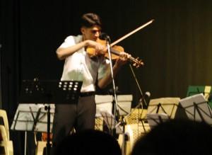 Geigensolo, Foto: Hellgurd S. Ahmed