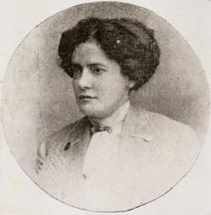 A poeta brasileira Francisca Júlia