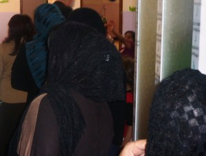 Female school teachers in Iraq (photo. Hellgurd S. Ahmed).