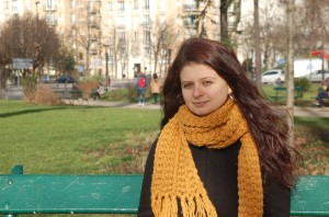 Madalina Alexe has lived in Paris since 2008 (Photo: F. Jannic-Charbonnel)