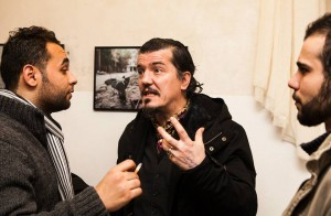 Firas' photos have been exhibited at public galleries in his new city, Berlin (Photo: Firas Al-Shater)