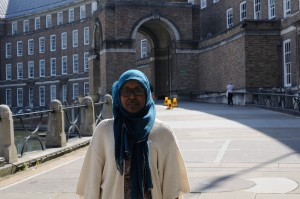 Muna's family is Somali but she was born in Sweden and moved to the UK when she was 9 years old, where she grew up in a diverse community in Bristol (Photo: Lyndsey Melling).
