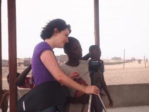Gaia Manco in Ghana