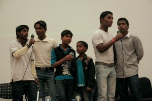 A performance by boys who live in the Unmeed Home, which is run by the organisation Dil Se Campaign