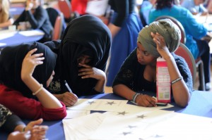 "Together with friends, Muna founded the charity ""Integrate Bristol"" to raise awareness about the issue of female genital mutilation (Photo: Lyndsey Melling)."