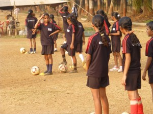 It was a challenge convincing parents to let their girls play soccer (Photo: S. Fernandes)