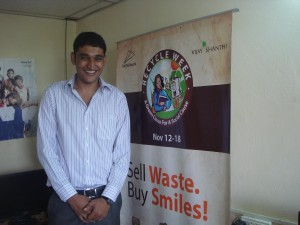 Mathew believes that waste has life, and waste can change lives. That is why he founded the organisation Paperman in July 2010.