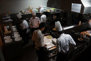 The kitchen at Pots 'n Pans