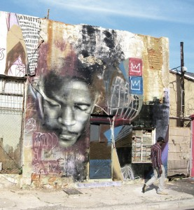 FreddySam's large-scale murals leave behind a strong impression