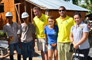 "Maria Lukowska says that she and the volunteer crew ""have managed to distribute over 188 sets of construction materials for the families"" (Photo: Maria Lukowska)"
