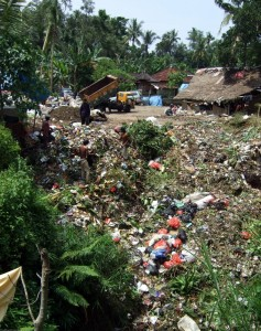 A trash dump in Bali (Photo: DW)