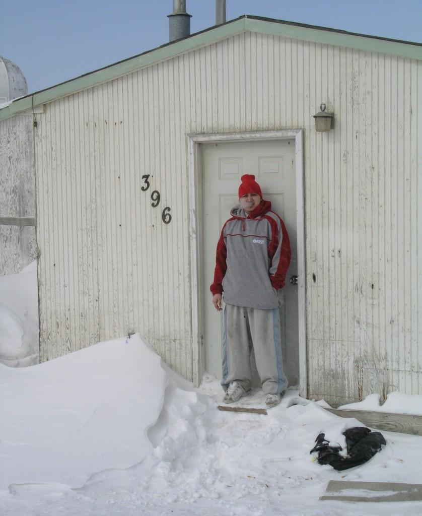 Smoke in the cold  (Pic: Quaile, Barrow, Alaska)