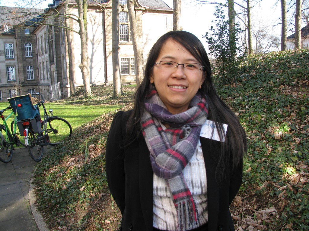 Lina Li from the Adelphi think-tank told me pollution concerns could speed up China's climate action (Pic. I.Quaile)