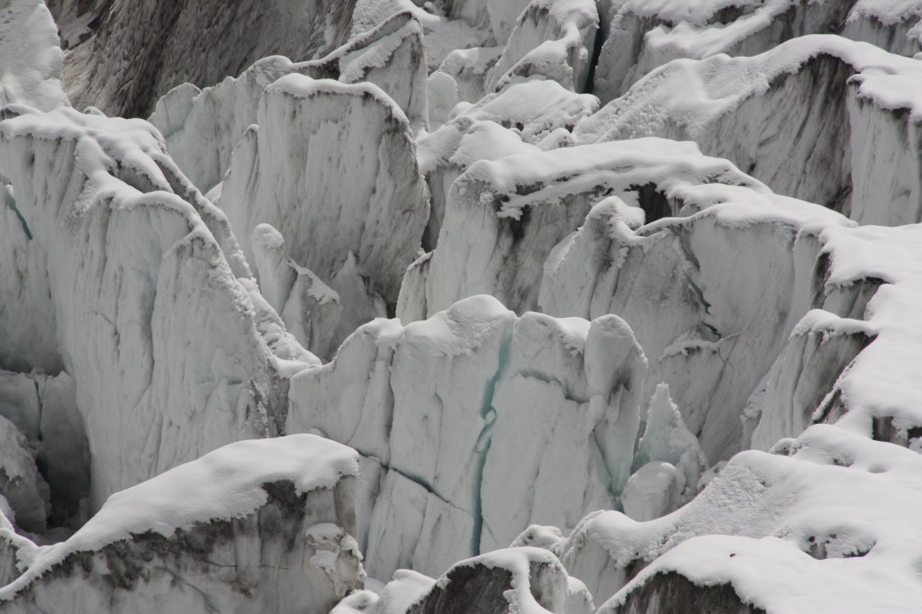 Glaciers - beautiful but highly endangered in our warming age. (Pic. I.Quaile)