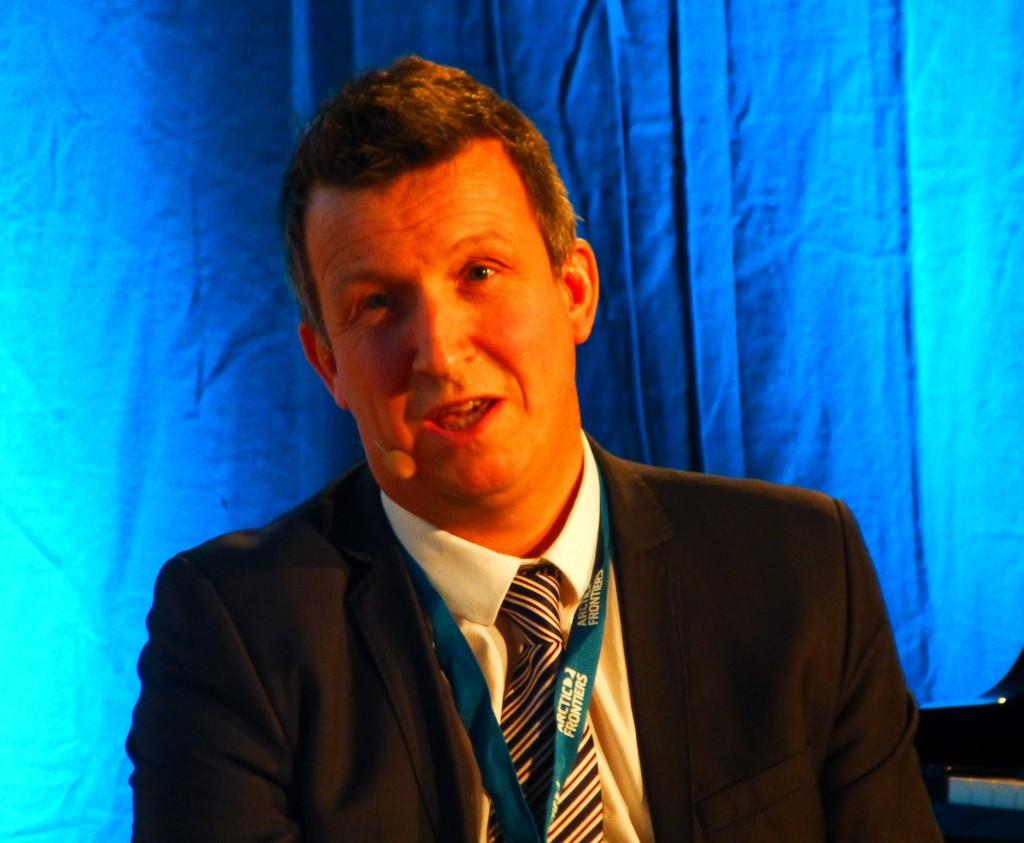 Advocates oil from the Arctic: Kjell Giæver