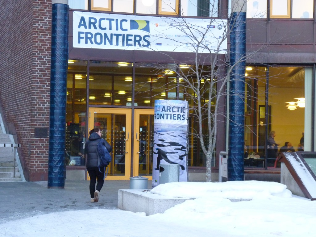 Arctic Frontiers at Tromso University