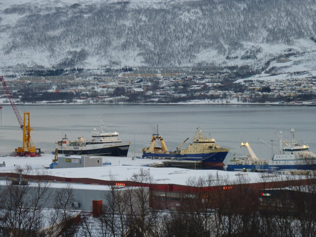 Shipping is on the increase in the Arctic region