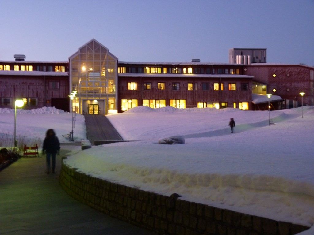 UiT Tromsö, the world's northernmost university. (Pic I.Quaile 2014)
