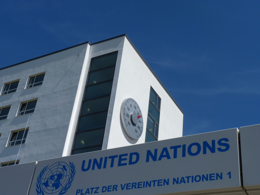 UNFCCC headquarters in Bonn (Pic Quaile)