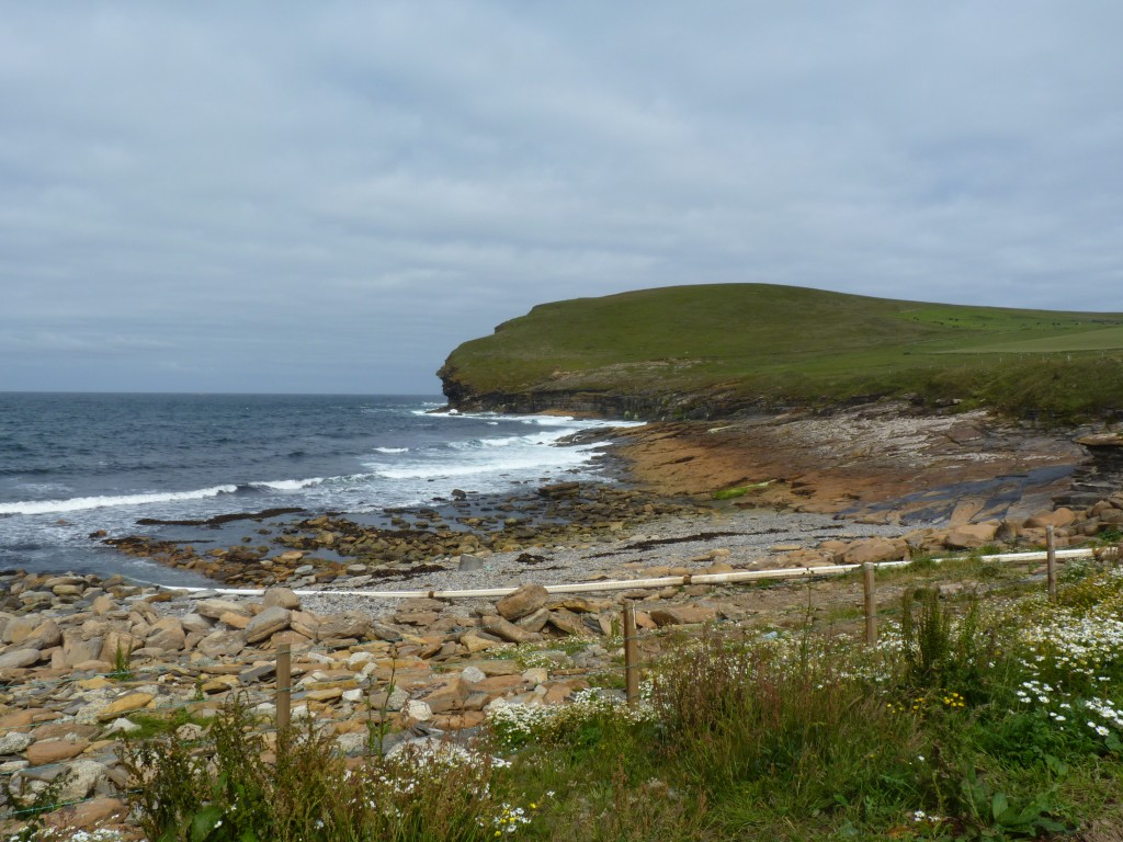 Orkney coast, EMEC test site Billia Croo