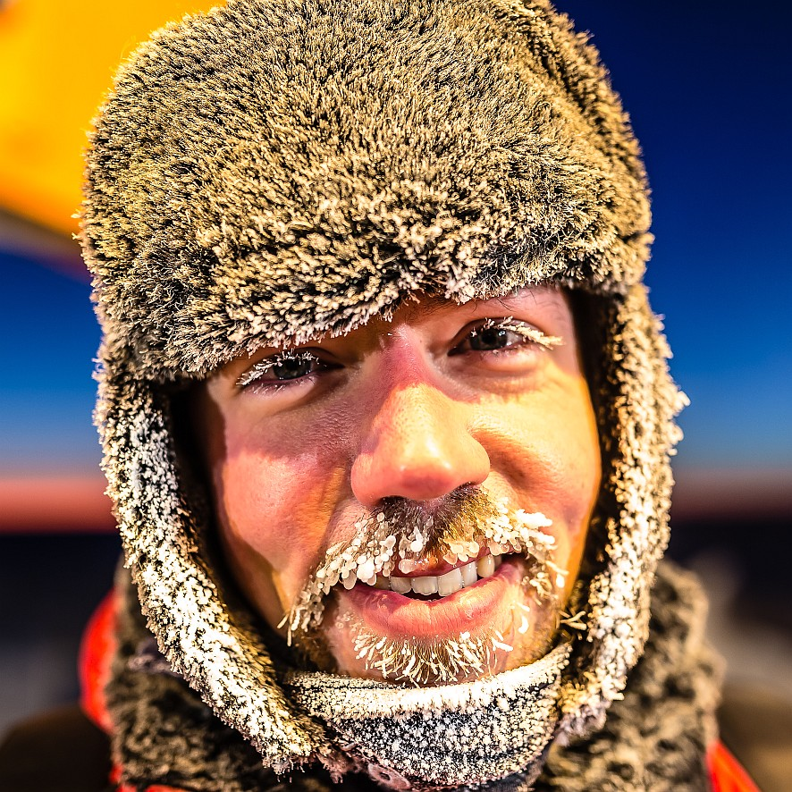 Ice physicist Hendricks (Foto: Hendricks)