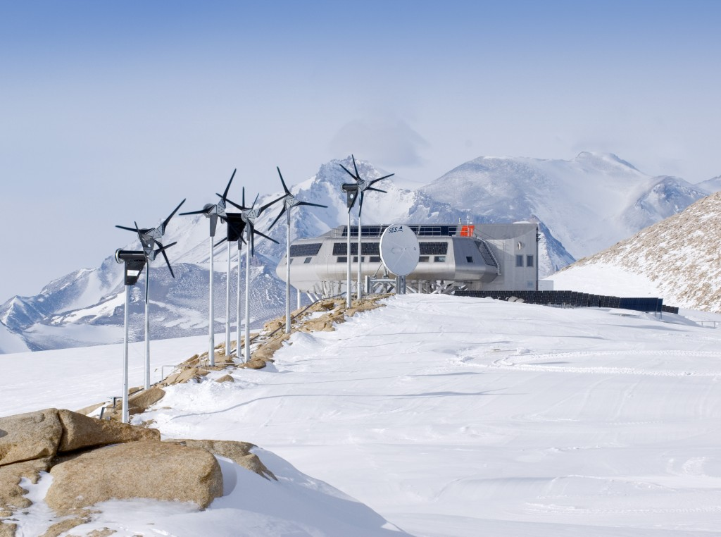 Belgium's Princess Elisabeth Antarctica Research Station