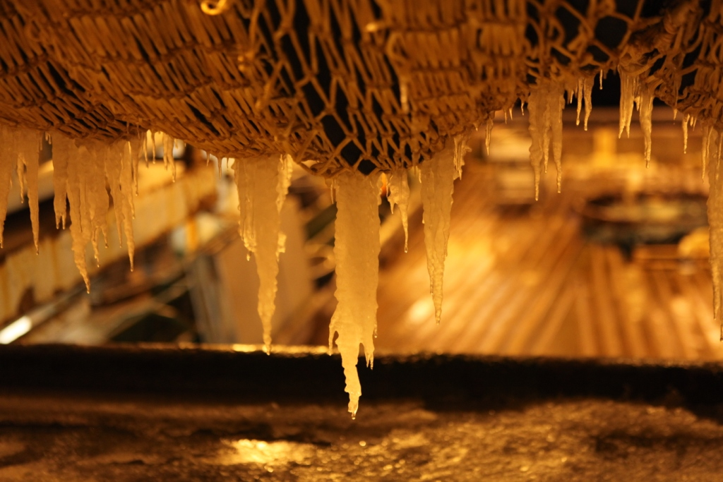 Icicles on the HH's nets