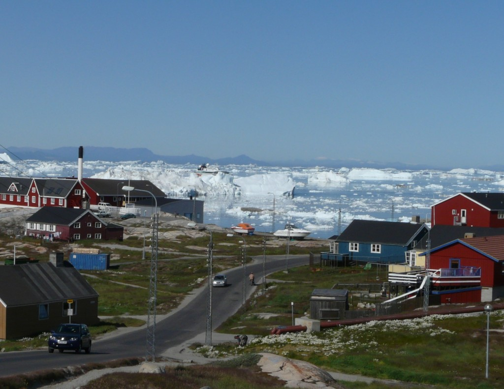 Icebergs off the coast of Ilulissat (I.Quaile)