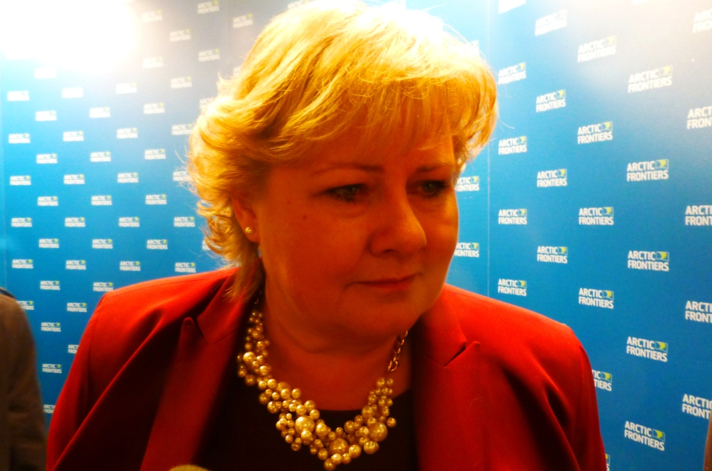 Norwegian PM Solberg wants to combine climate protection with Arctic gas