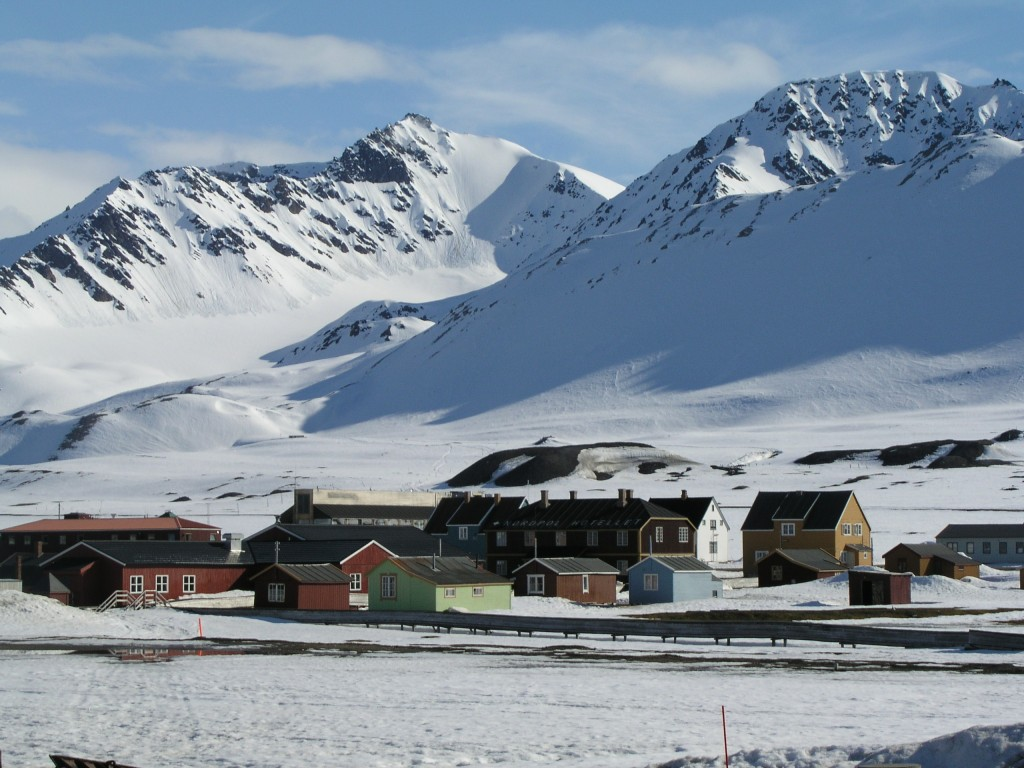 International Research Village Ny Alesund, Spitsbergen (Pic: I.Quaile, 2007)