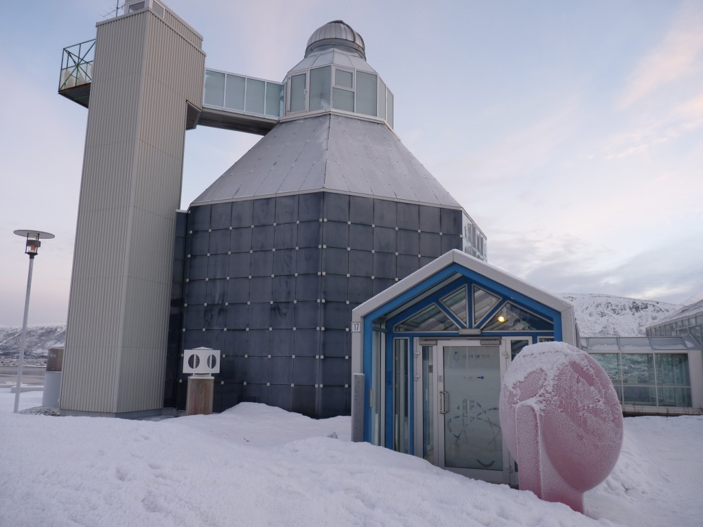 Planetarium at Tromso Science Center of Northern Norway