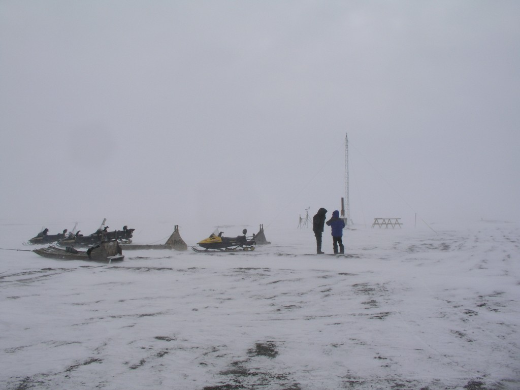 Point Barrow, the northernmost point in the USA
