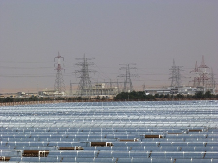 Switching to renewables is more viable than ever. (Pic: in oil-state Abu Dhabi. I.Quaile)