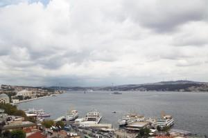 Bosporusufer und Bosorusbrücke
