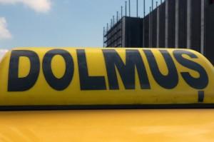 Dolmuş - typische Istanbuler Kleinbusse