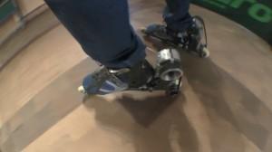 Schuhe mit Raketenantrieb