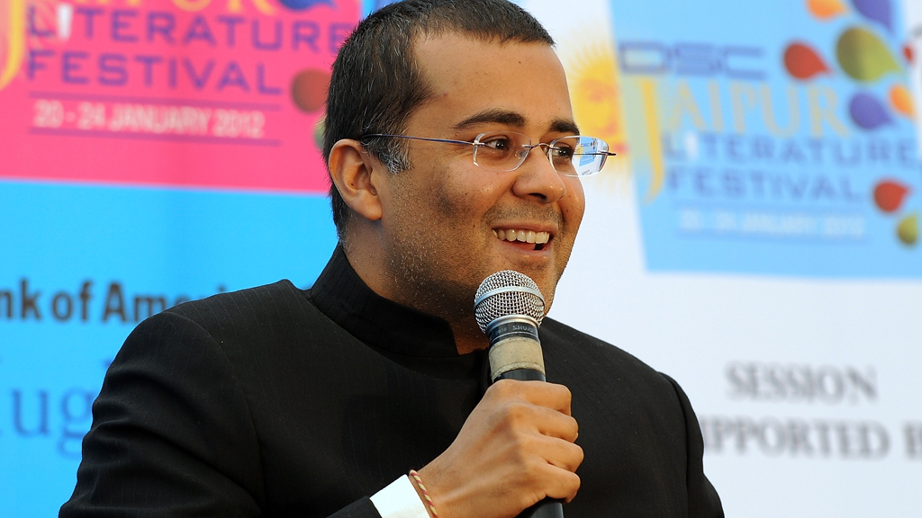"Chetan Bhagat speaks about Salman Khan starrer ""Kick"""